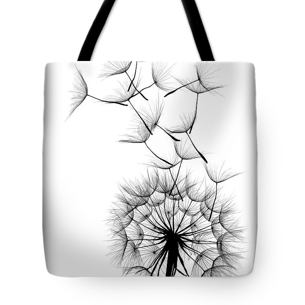 Wind Tote Bag featuring the photograph Dandelion by Sunnybeach