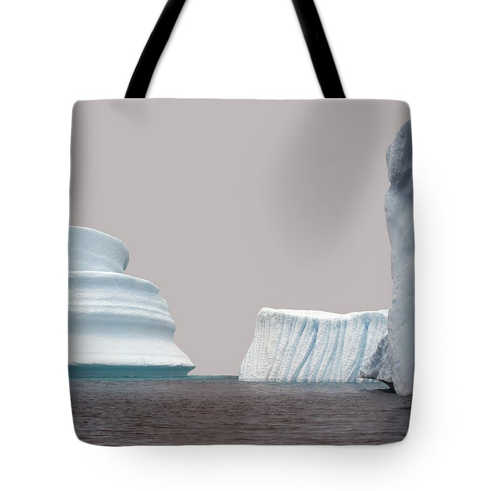 Iceberg Tote Bag featuring the photograph Iceberg by Jim Julien / Design Pics