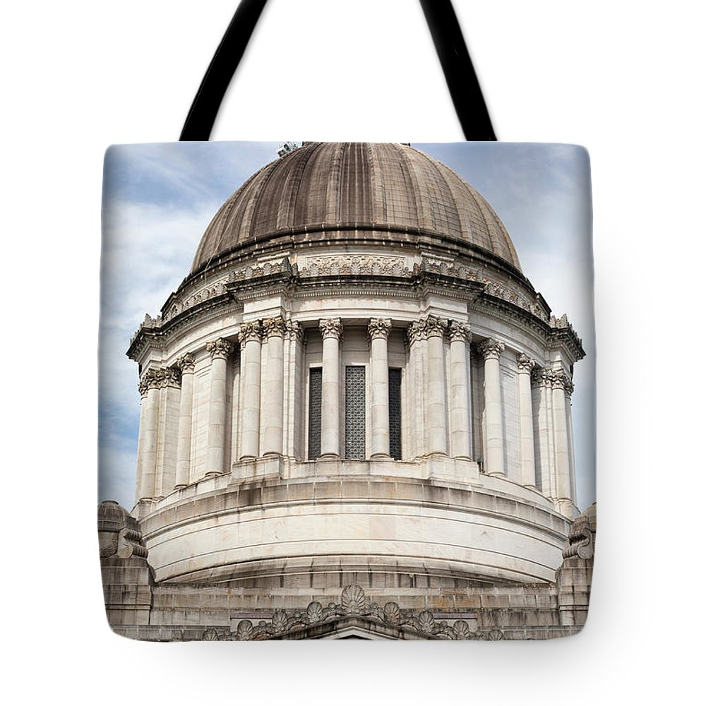 Photography Tote Bag featuring the photograph Legislative Building, Olympia by Panoramic Images
