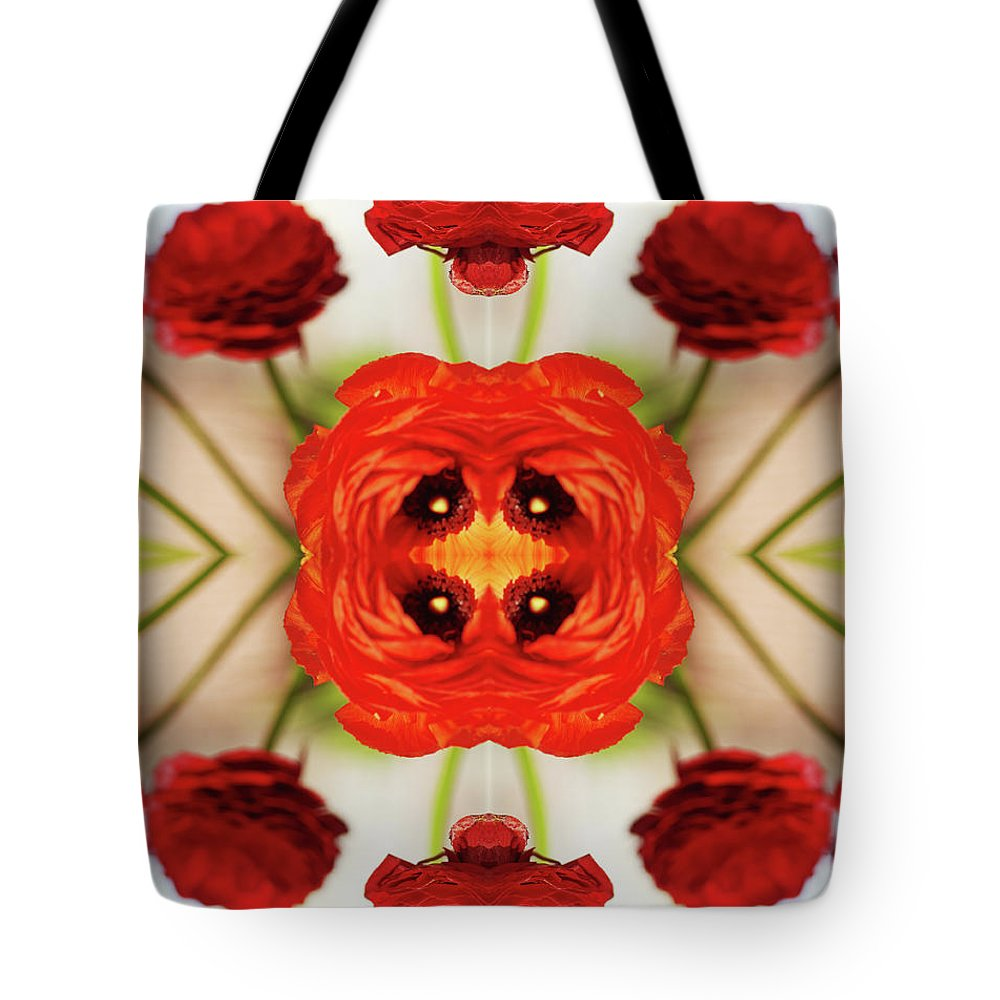 Tranquility Tote Bag featuring the photograph Ranunculus Flower by Silvia Otte