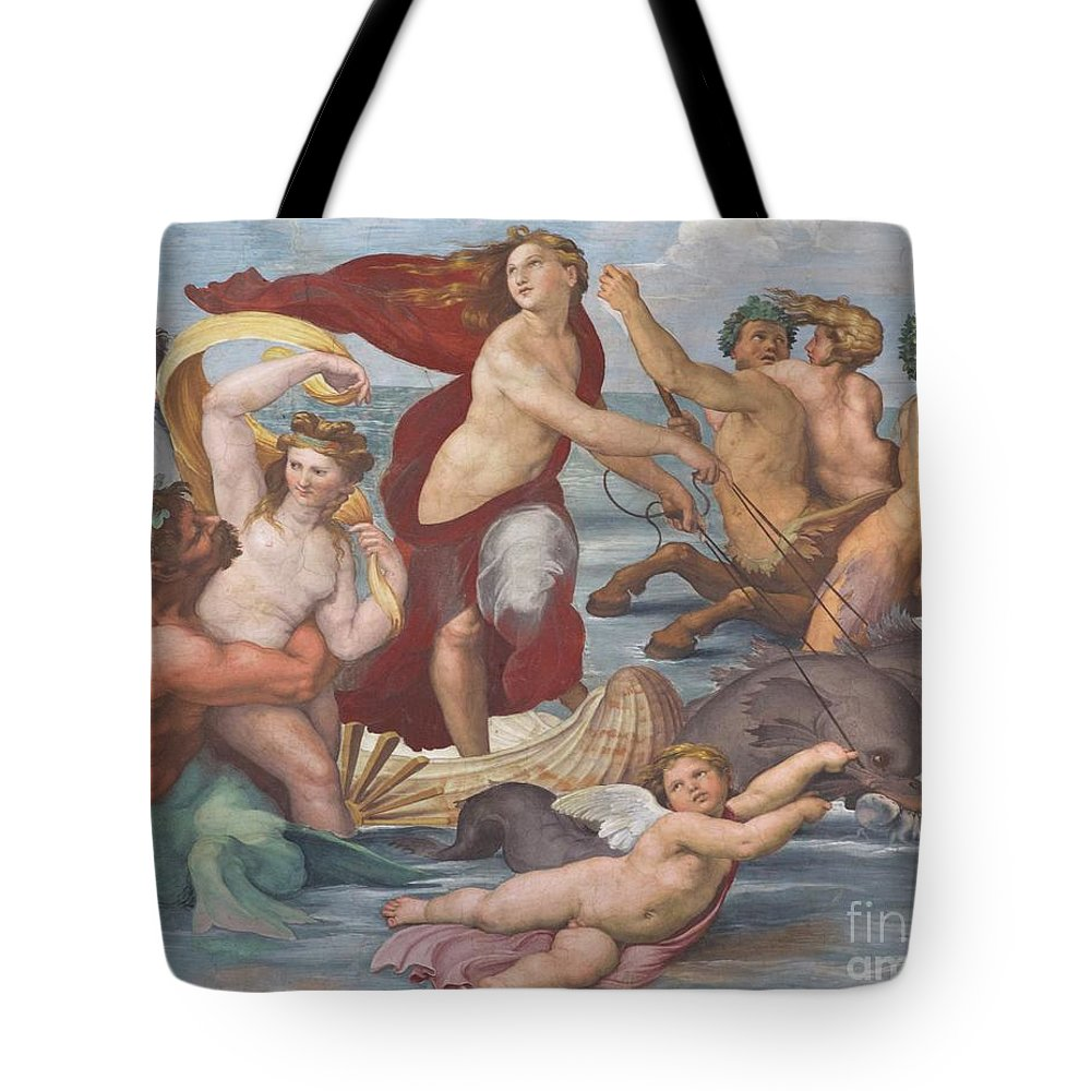 1512 Tote Bag featuring the photograph Triumph Of Galatea, Detail by Peter Barritt