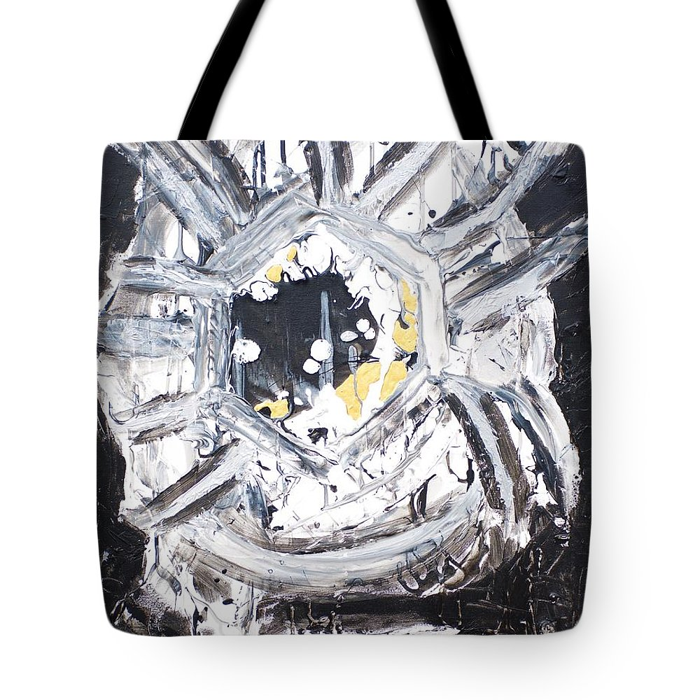 Tote Bag featuring the painting You Are A Dream Edition 1 by Sonye Locksmith