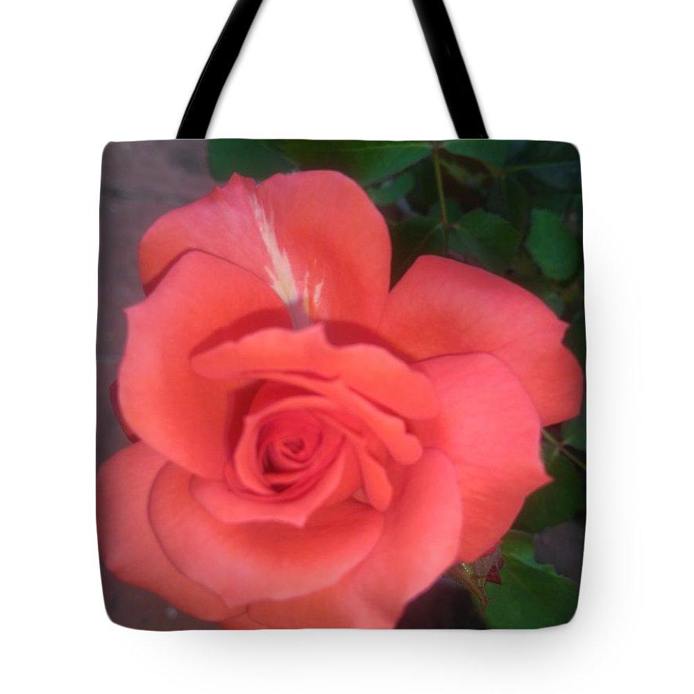 Tote Bag featuring the photograph Rose by Nimu Bajaj and Seema Devjani