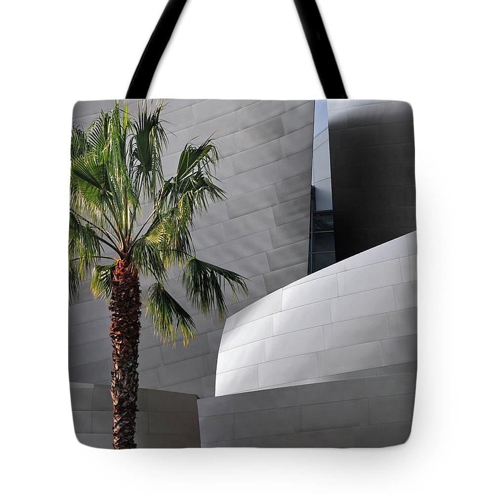 California Tote Bag featuring the photograph Disney Concert Hall by Mitch Diamond