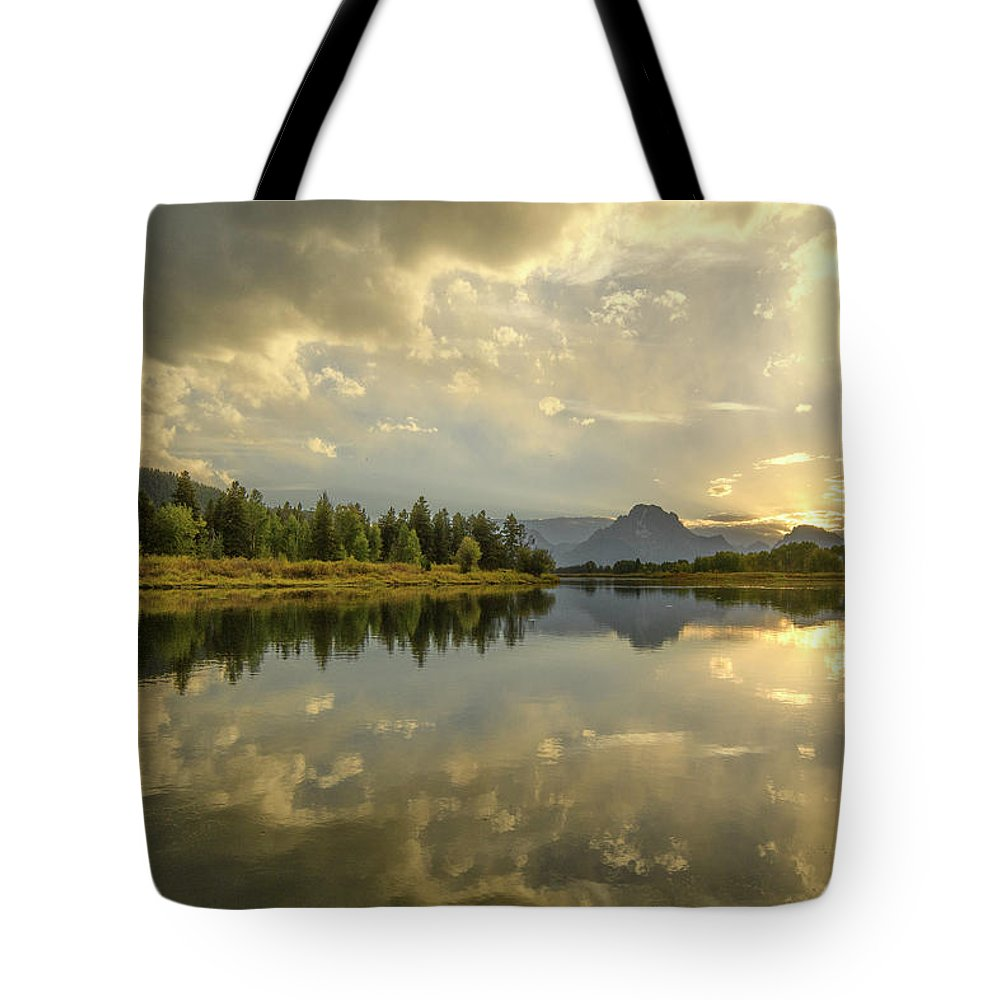 North America Tote Bag featuring the photograph Snake River by Christian Heeb