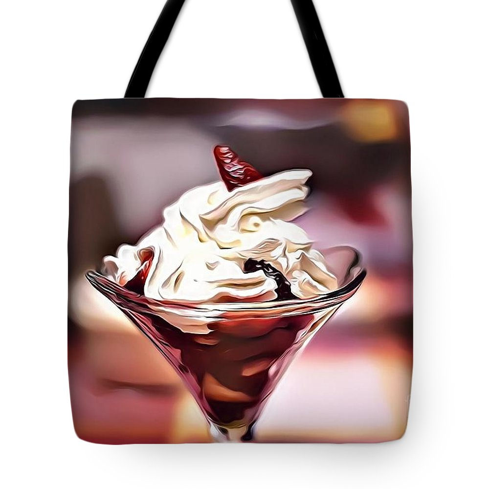 Urban Tote Bag featuring the digital art 30 Eat Me Now by Leo Rodriguez