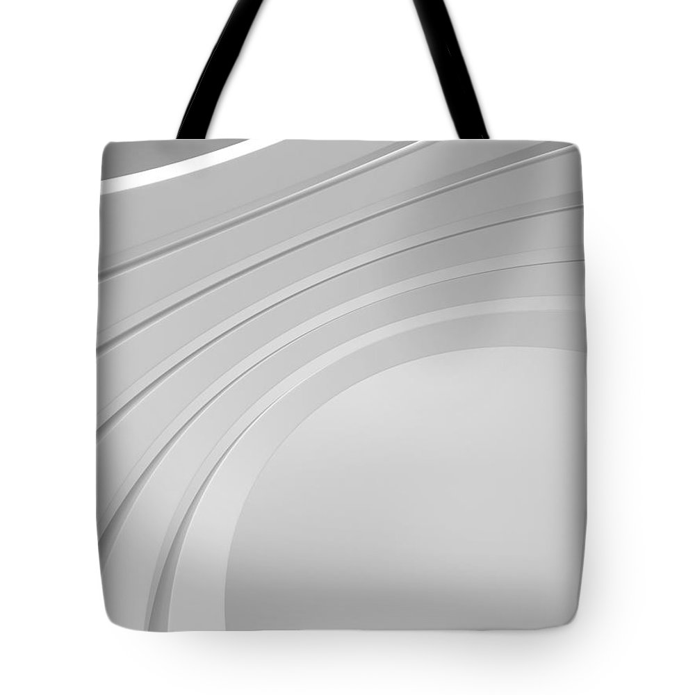 Arch Tote Bag featuring the photograph 3d Abstract Architecture Background by Me4o