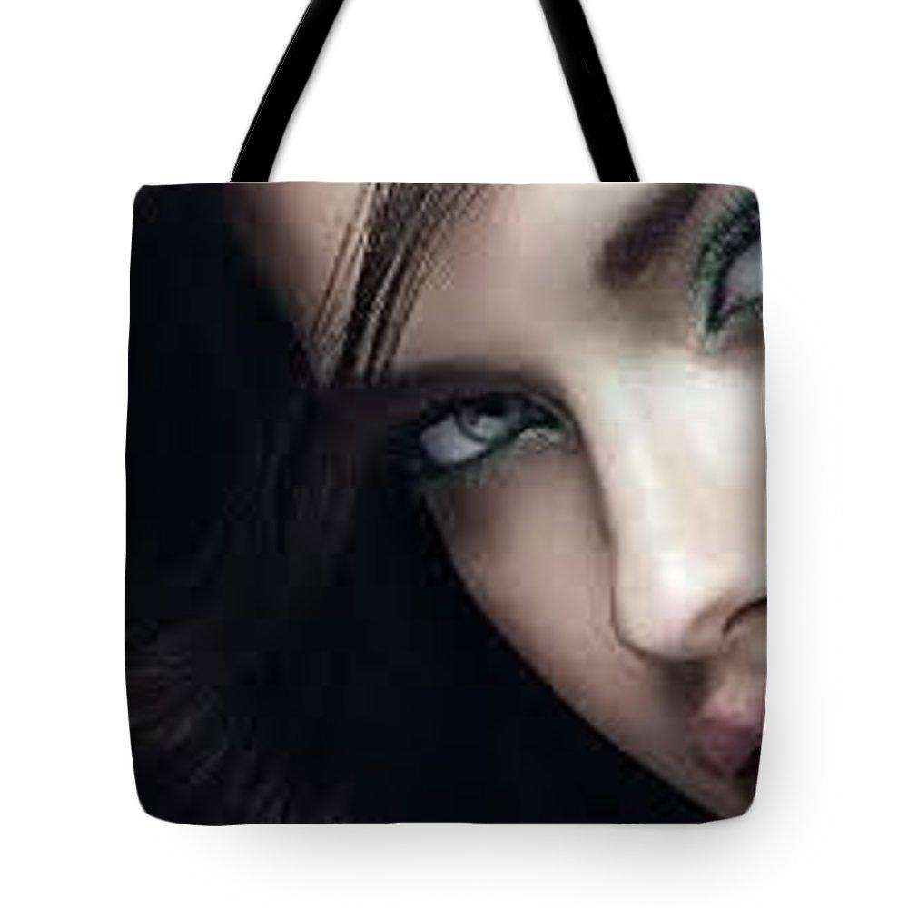 Dermavix Tote Bag featuring the digital art Dermavix by Dermavix