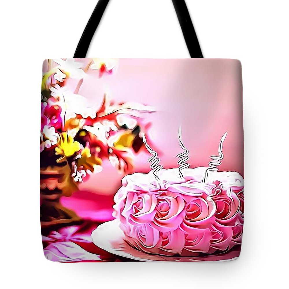 Urban Tote Bag featuring the digital art 4 Eat Me Now by Leo Rodriguez
