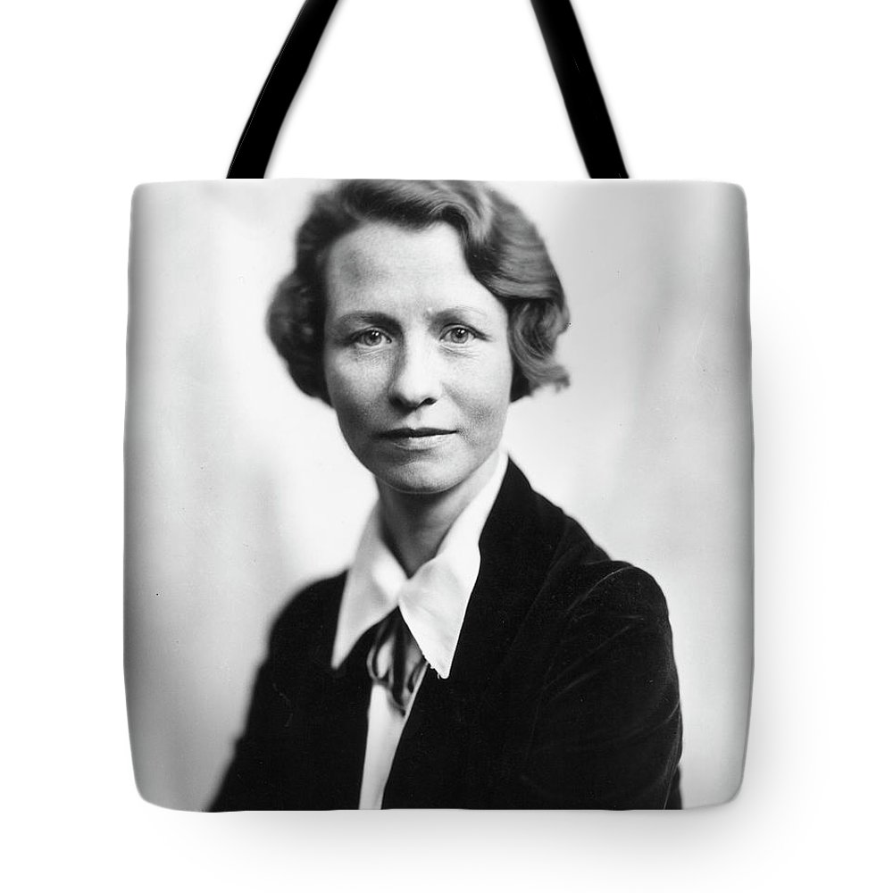 20th Century Tote Bag featuring the photograph Edna St. Vincent Millay 4 by Granger
