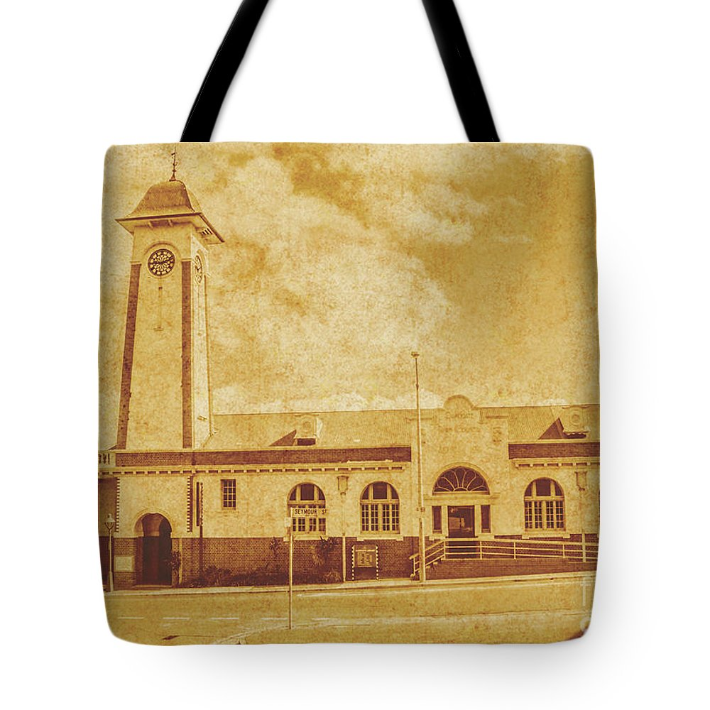 Architecture Tote Bag featuring the photograph 4017 4017 by Jorgo Photography - Wall Art Gallery