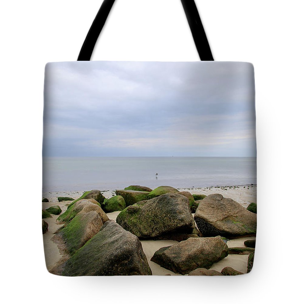 Cape Cod Tote Bag featuring the photograph Cape Cod Bay 5 by April Ann Canada - Raleigh Art Gallery