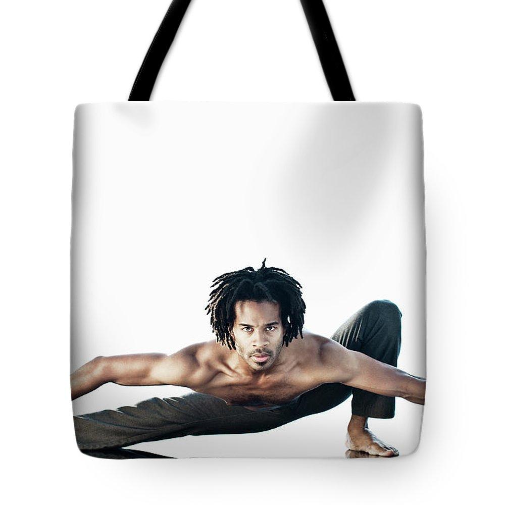 Torso Tote Bag featuring the photograph Dance Studio by Patrik Giardino