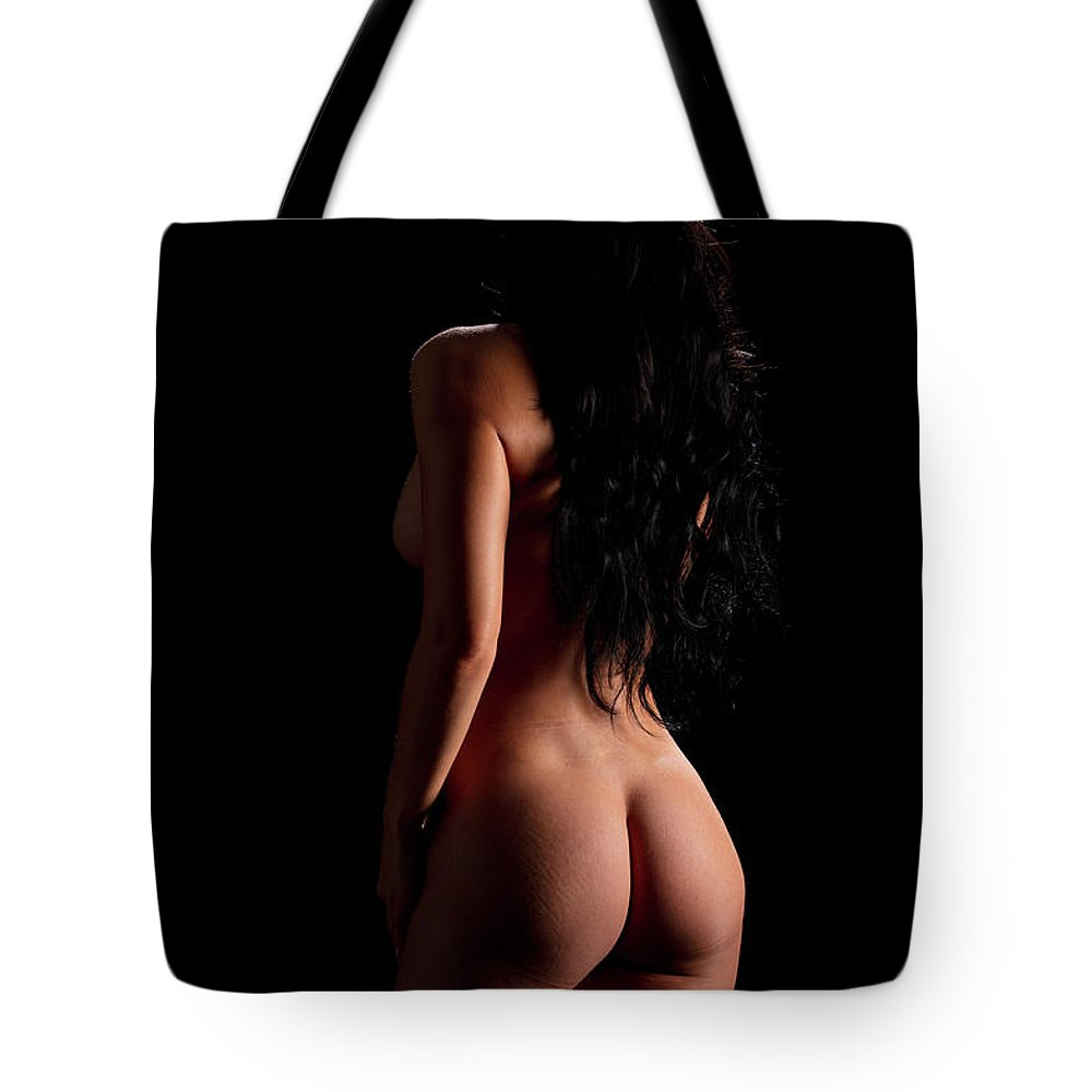 Nude Tote Bag featuring the photograph 800.1855 Nude Woman Model by Kendree Miller