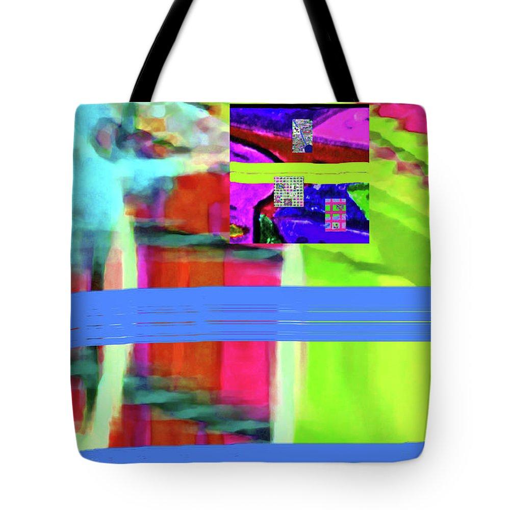 Walter Paul Bebirian Tote Bag featuring the digital art 9-18-2015fab by Walter Paul Bebirian