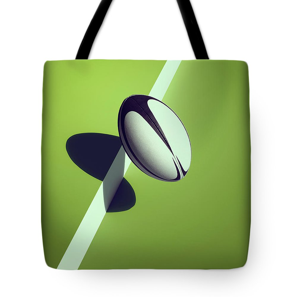 Newcraft Tote Bag featuring the photograph Sports Shadow by Kelvin Murray