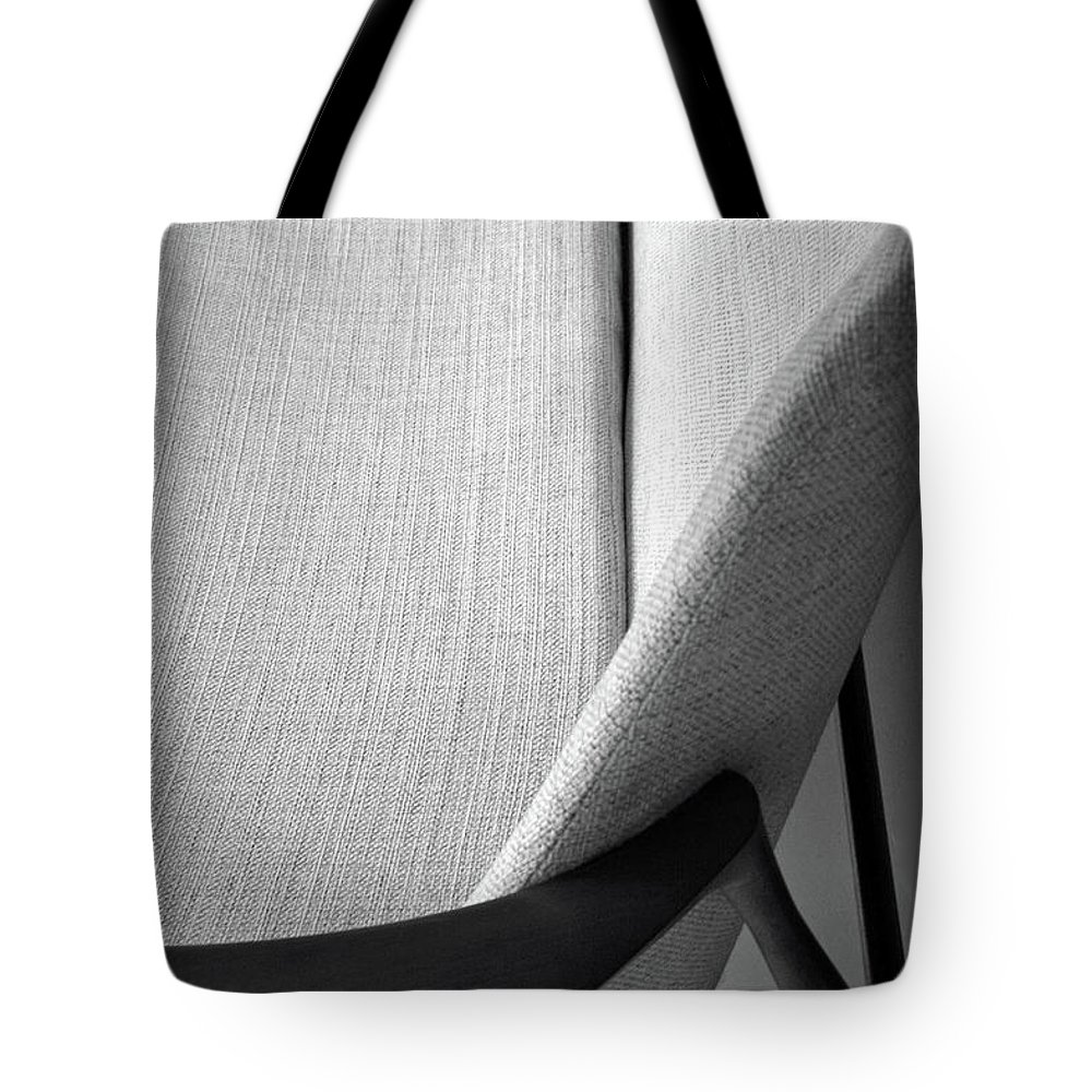 Antique Tote Bag featuring the photograph A Danish Settee by Cora Wandel