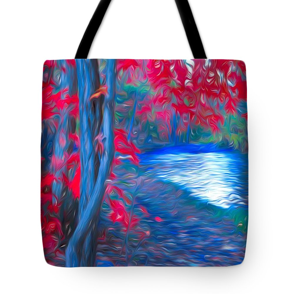 Tree Tote Bag featuring the photograph A Delicate Autumn by Tara Turner