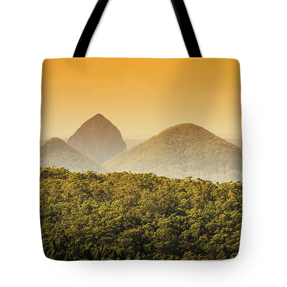 Glass House Tote Bag featuring the photograph A Glowing Afternoon by Jorgo Photography - Wall Art Gallery