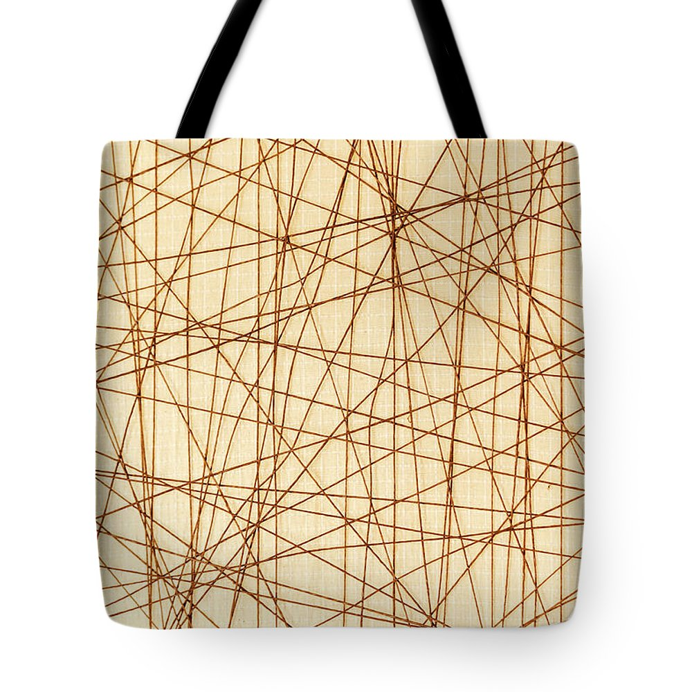 Web Tote Bag featuring the photograph Abstract Web Background by Dejan Jekic