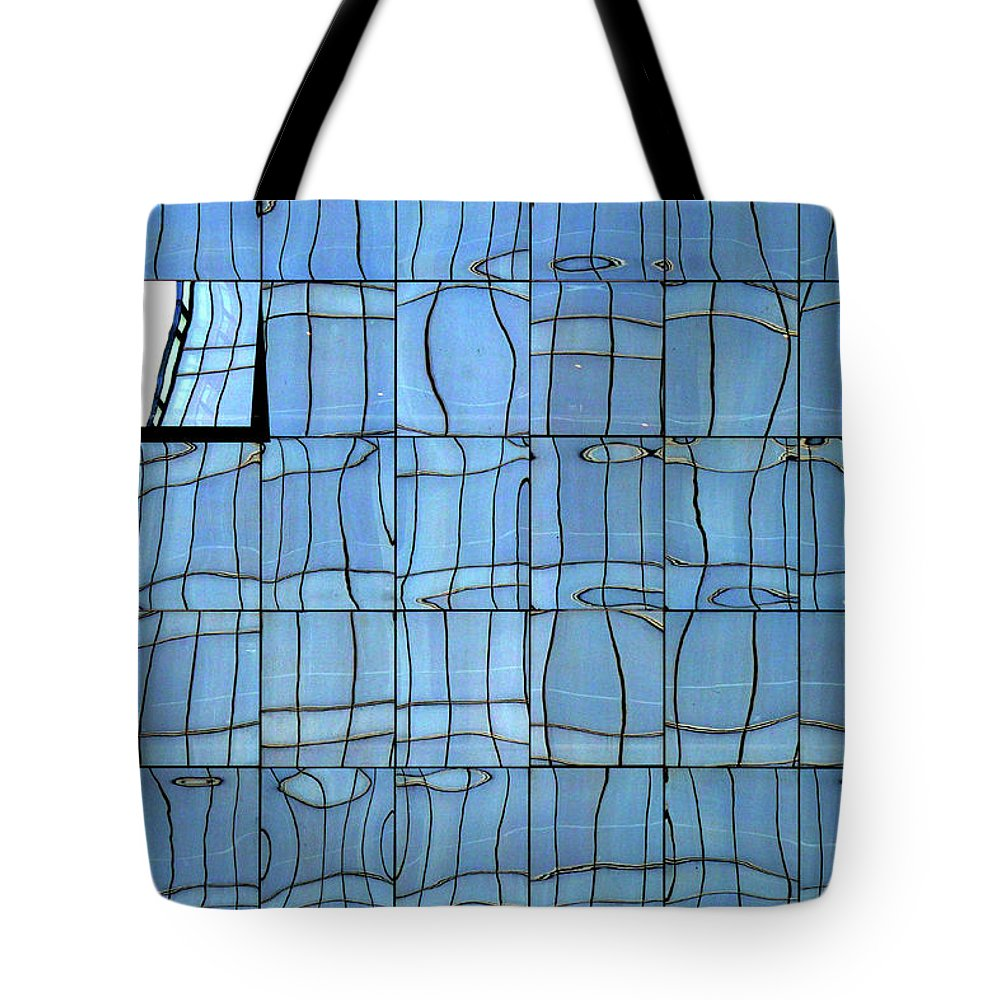 Reflection Tote Bag featuring the photograph Abstritecture 1 by Stuart Allen