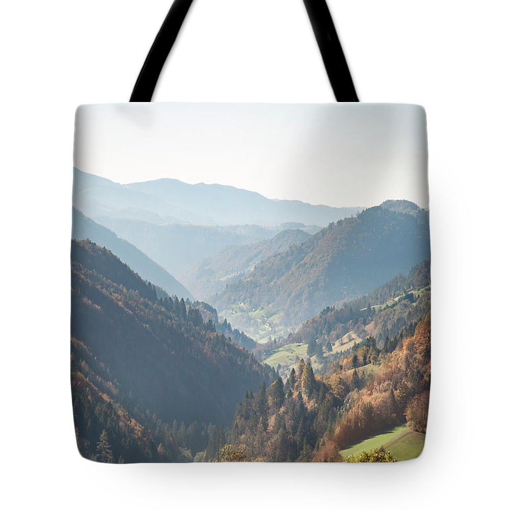 Kremsdorf Tote Bag featuring the photograph Adagio Of The Highlands by Evelina Kremsdorf