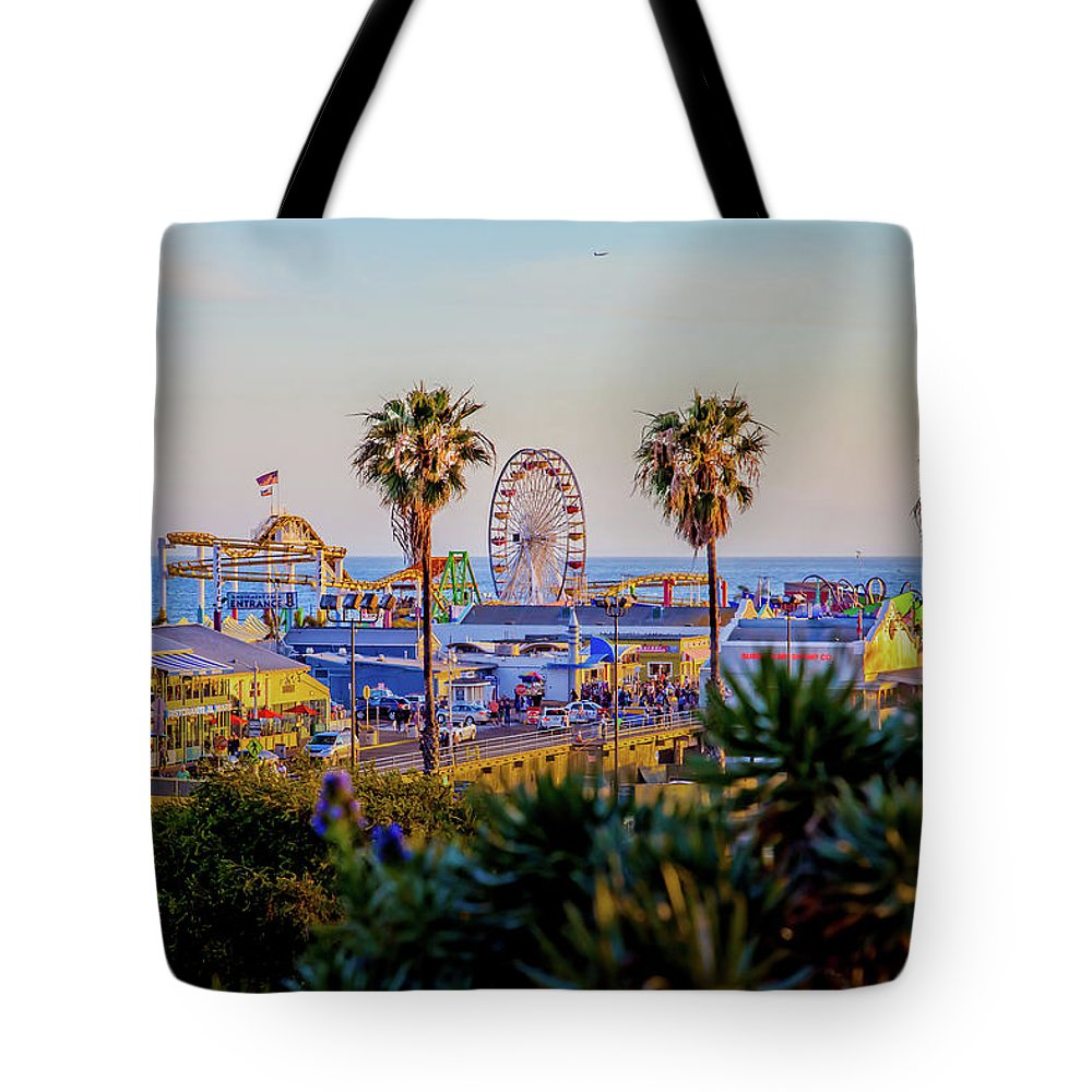 Thrill Ride Tote Bags