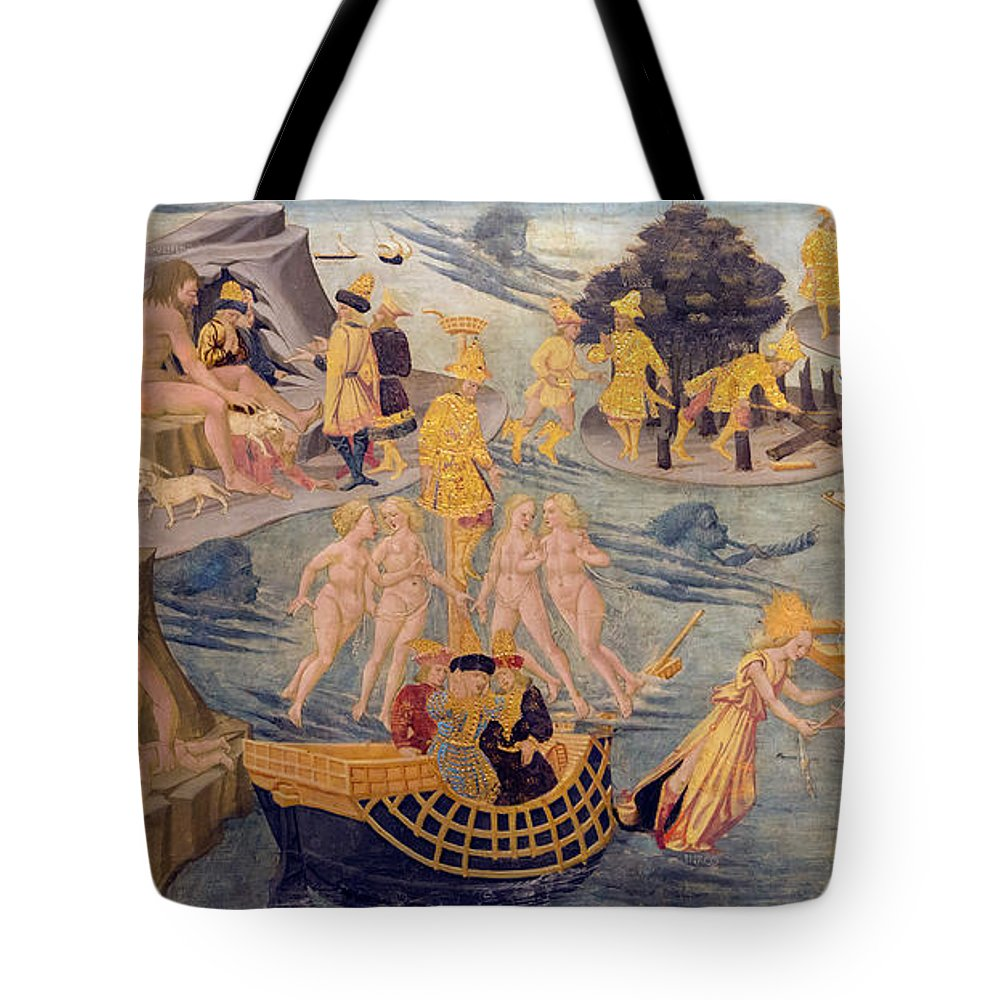 1440 Tote Bag featuring the photograph Adventures Of Ulysses, Detail by Peter Barritt