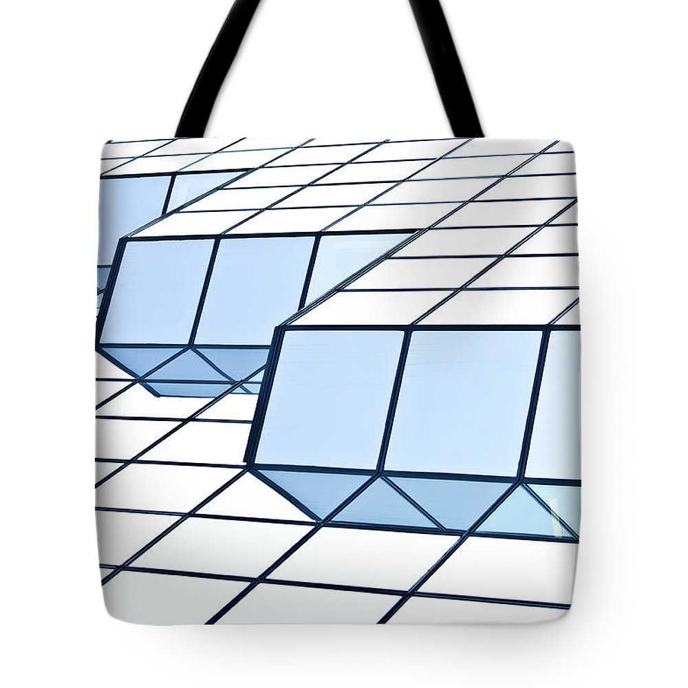 Rectangle Tote Bag featuring the photograph Almost Pure Geometry by Daniel Kulinski
