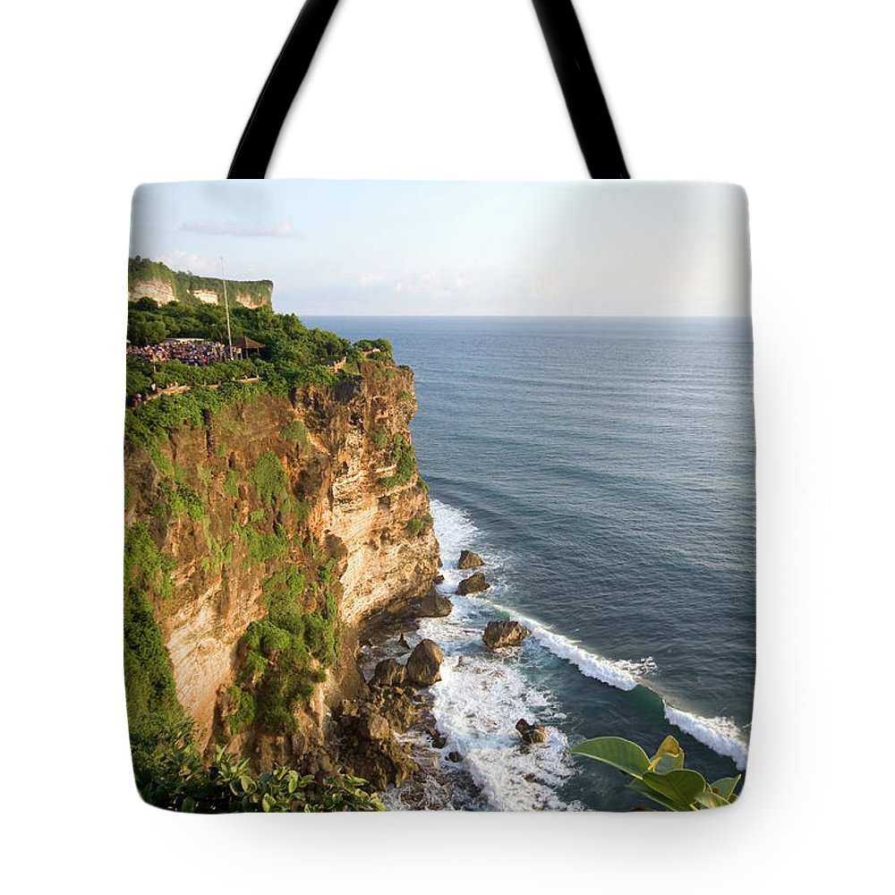 Scenics Tote Bag featuring the photograph Amazing Views At Uluwatu, Bali by Tuomas Lehtinen