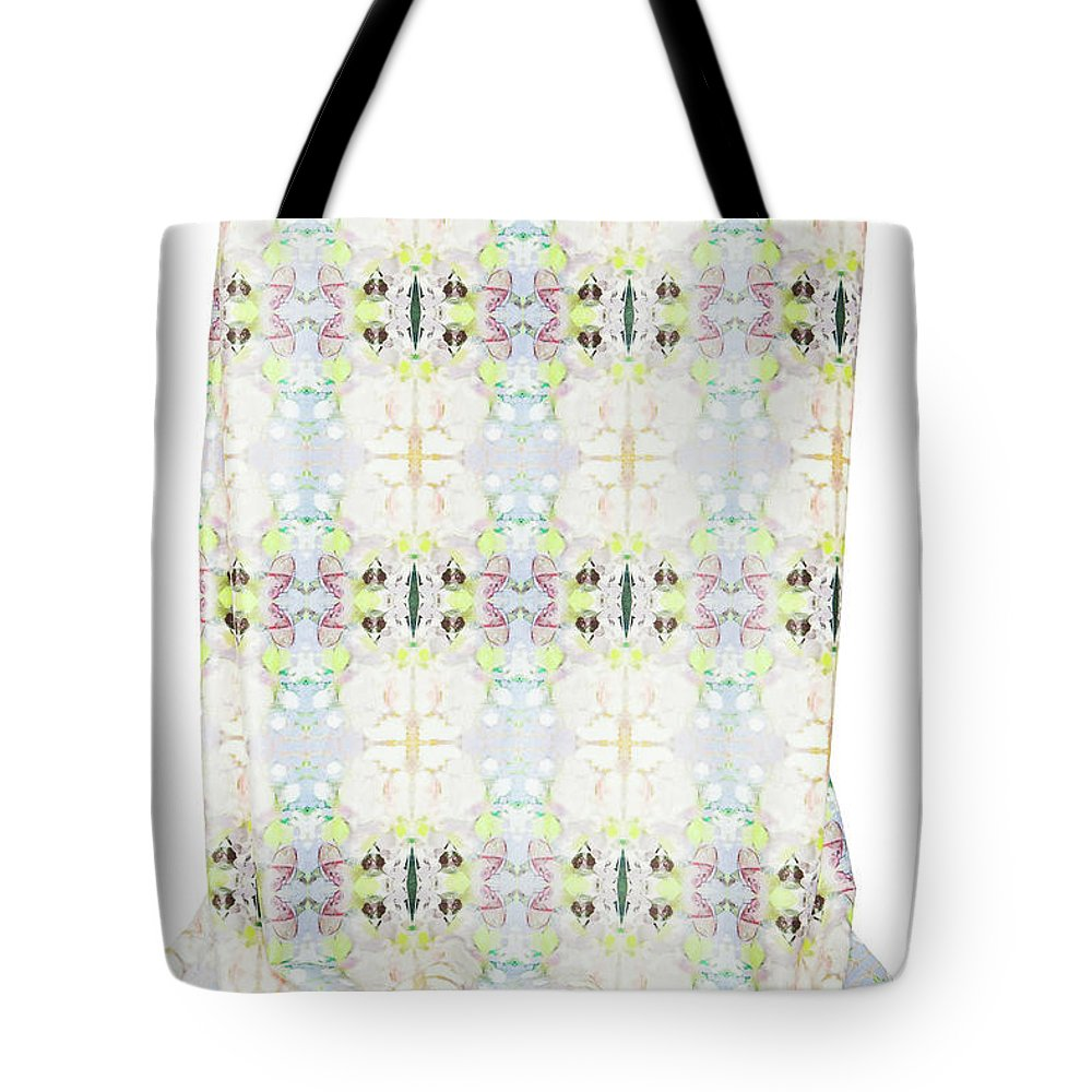 Indira Tote Bag featuring the tapestry - textile Ameliorations by Indira Marin Dingledine
