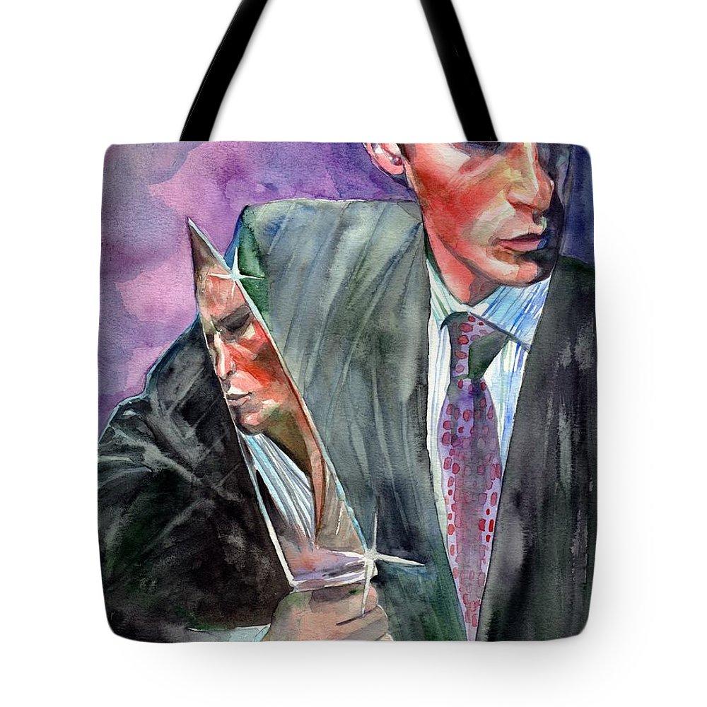 Serial Killer Paintings Tote Bags