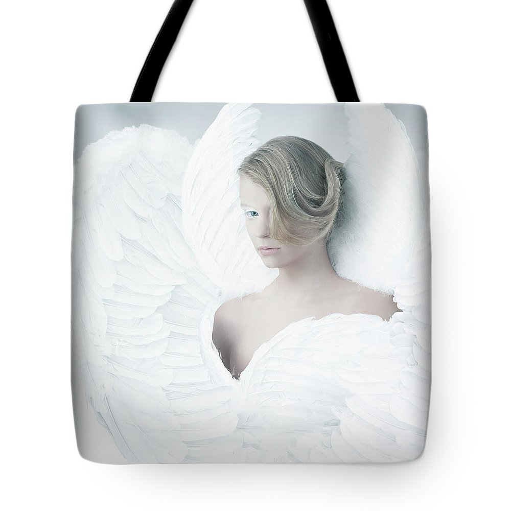 People Tote Bag featuring the photograph Angel by Colin Anderson