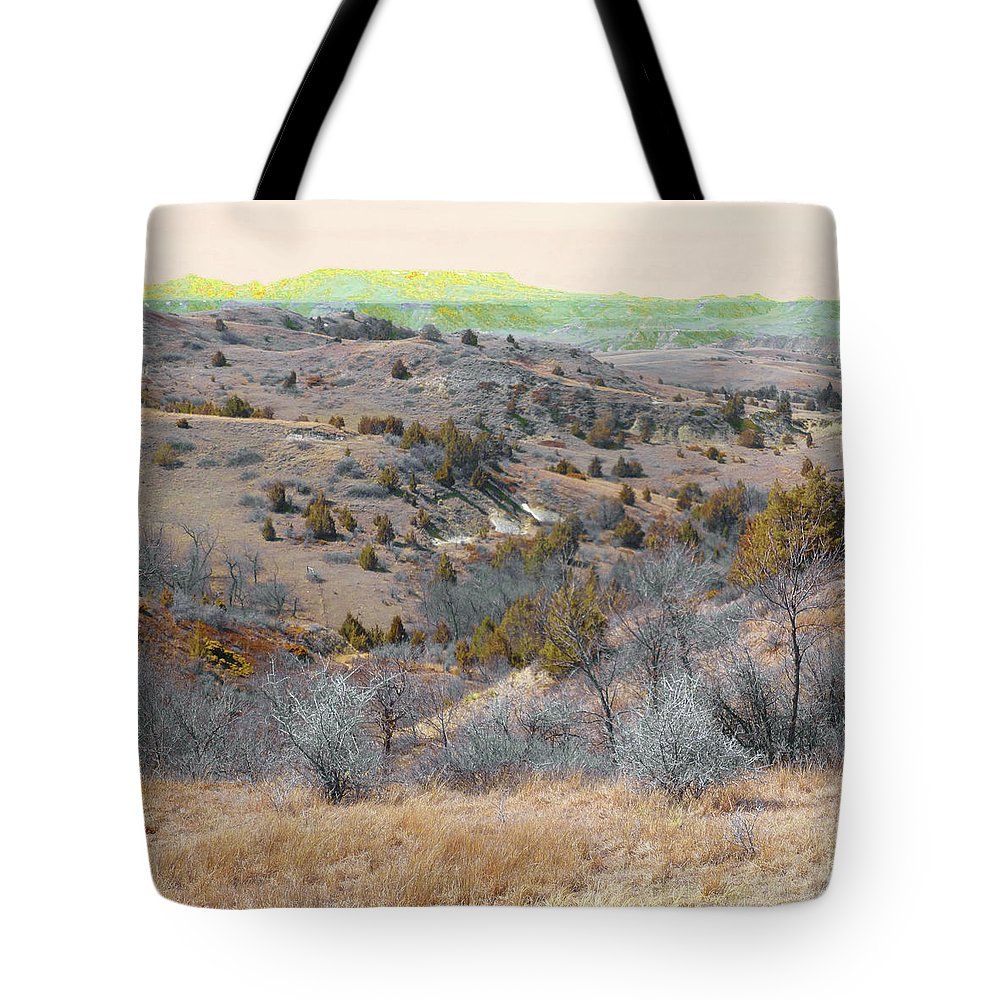 North Dakota Tote Bag featuring the photograph April Day Reverie by Cris Fulton