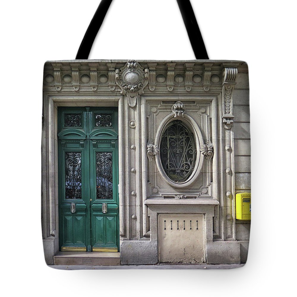 Art Deco Tote Bag featuring the photograph Art Deco Doorway by Dave Mills