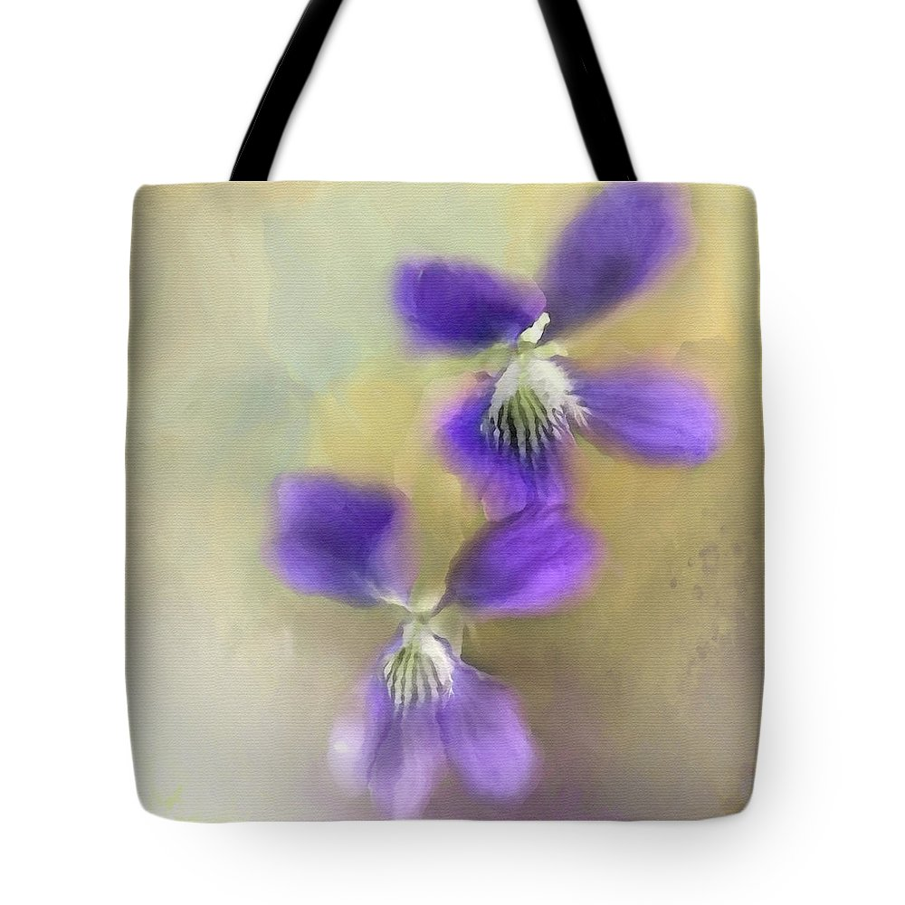 The Way Tote Bag featuring the digital art The Way by Anita Faye