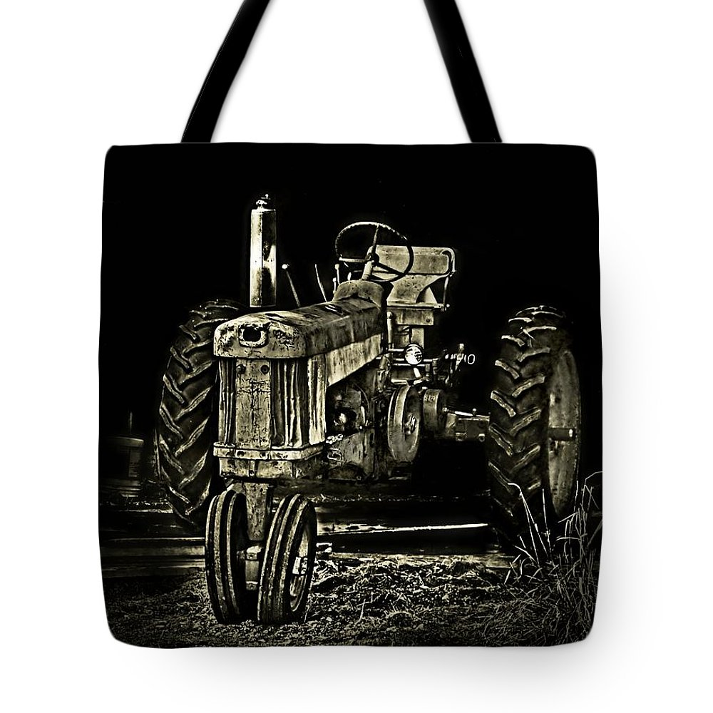 Abandoned Tote Bag featuring the photograph Out Of Shadow by Catherine Melvin
