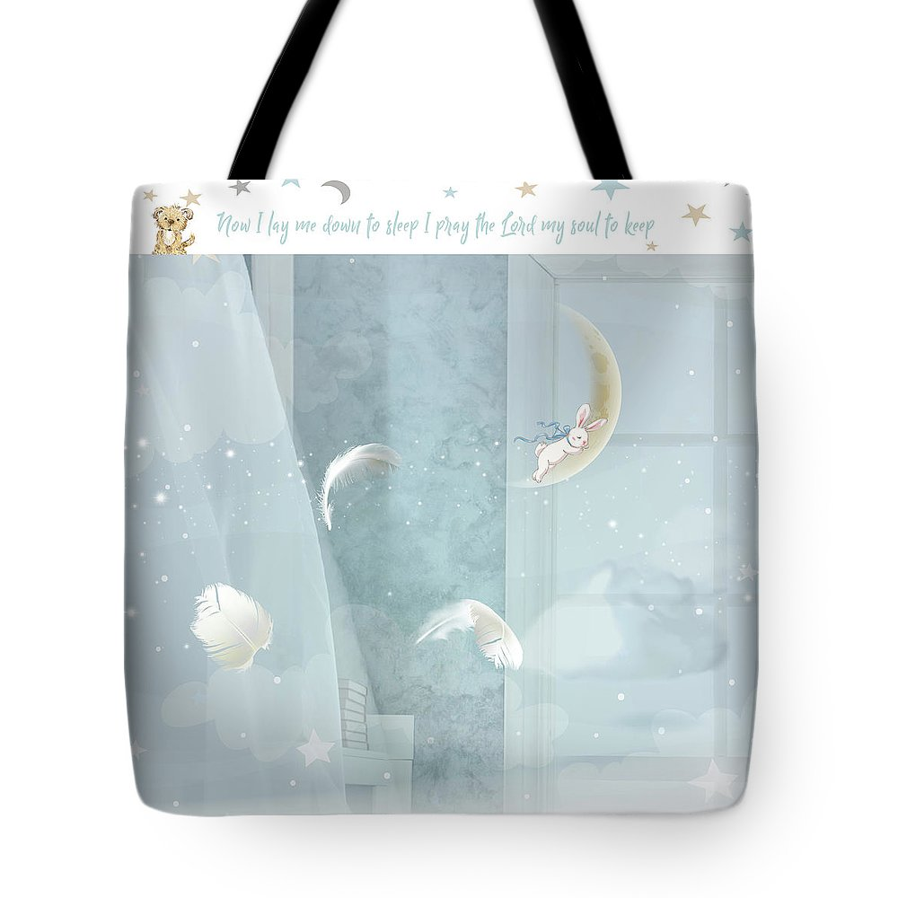 Nursery Tote Bag featuring the digital art Soul To Keep by Claire Tingen