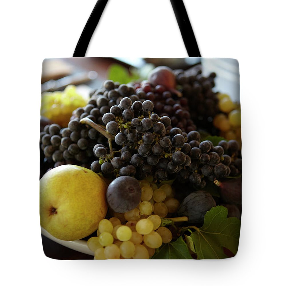 Healthy Eating Tote Bag featuring the photograph Assorted Fruit by James Baigrie