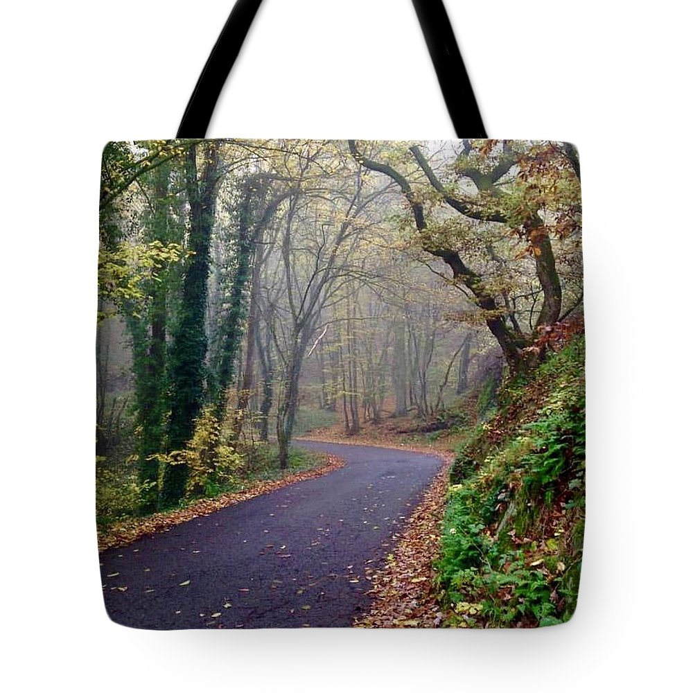 Italy Tote Bag featuring the photograph Autumn In Italy by Linda Knudsen