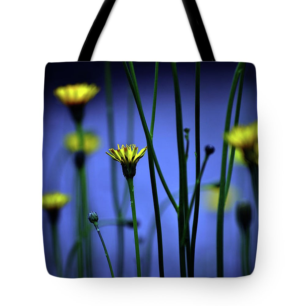 Outdoors Tote Bag featuring the photograph Avatar Flowers by Mauro Cociglio - Turin - Italy