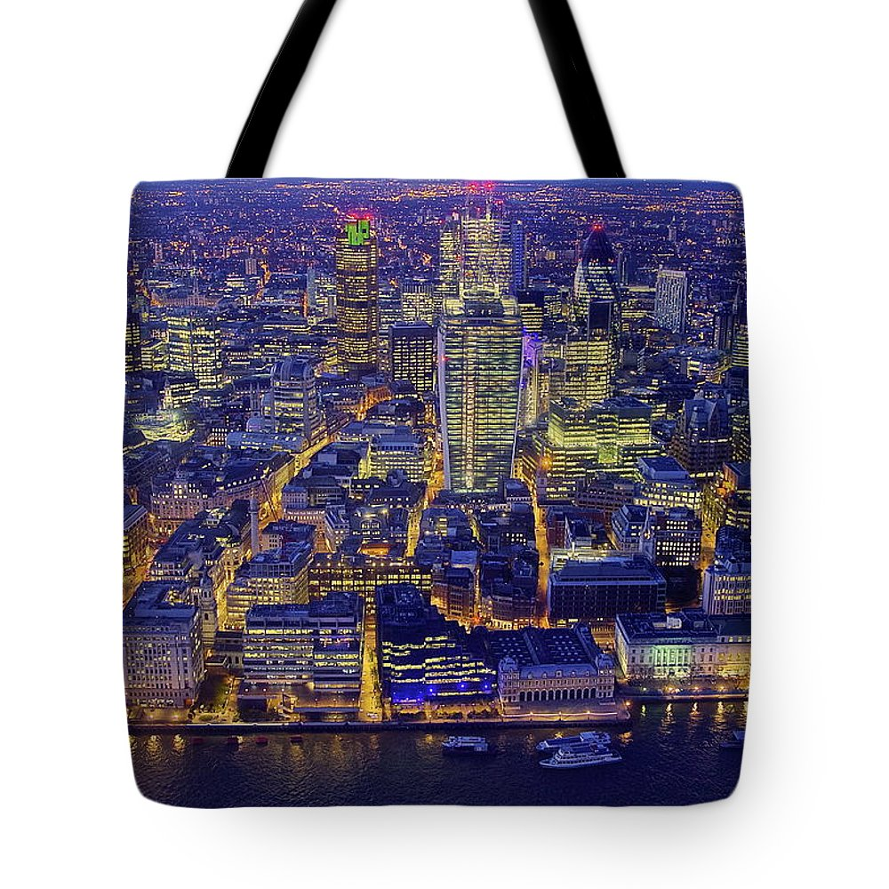 Scenics Tote Bag featuring the photograph Babel 2.0 by By Andrea Pucci
