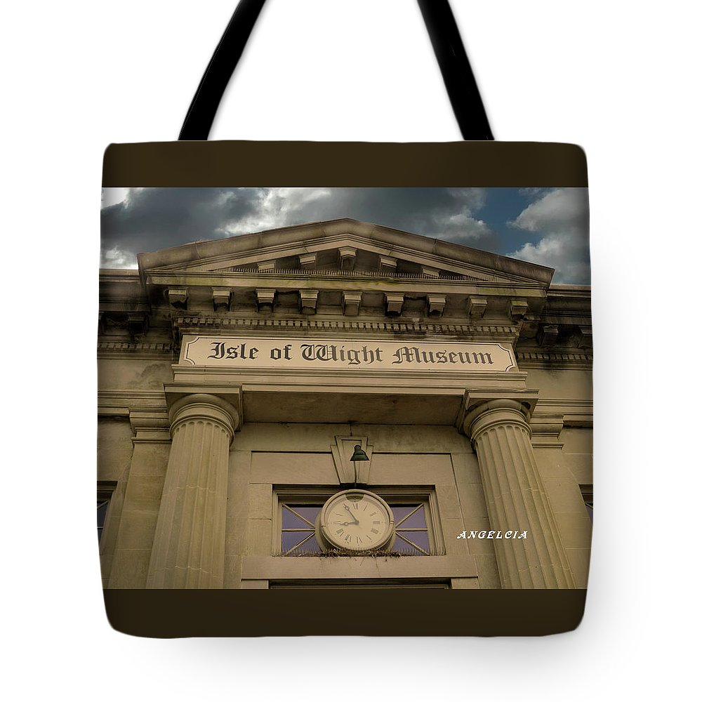 Museums Tote Bag featuring the photograph Back To The Future by Angelcia Wright
