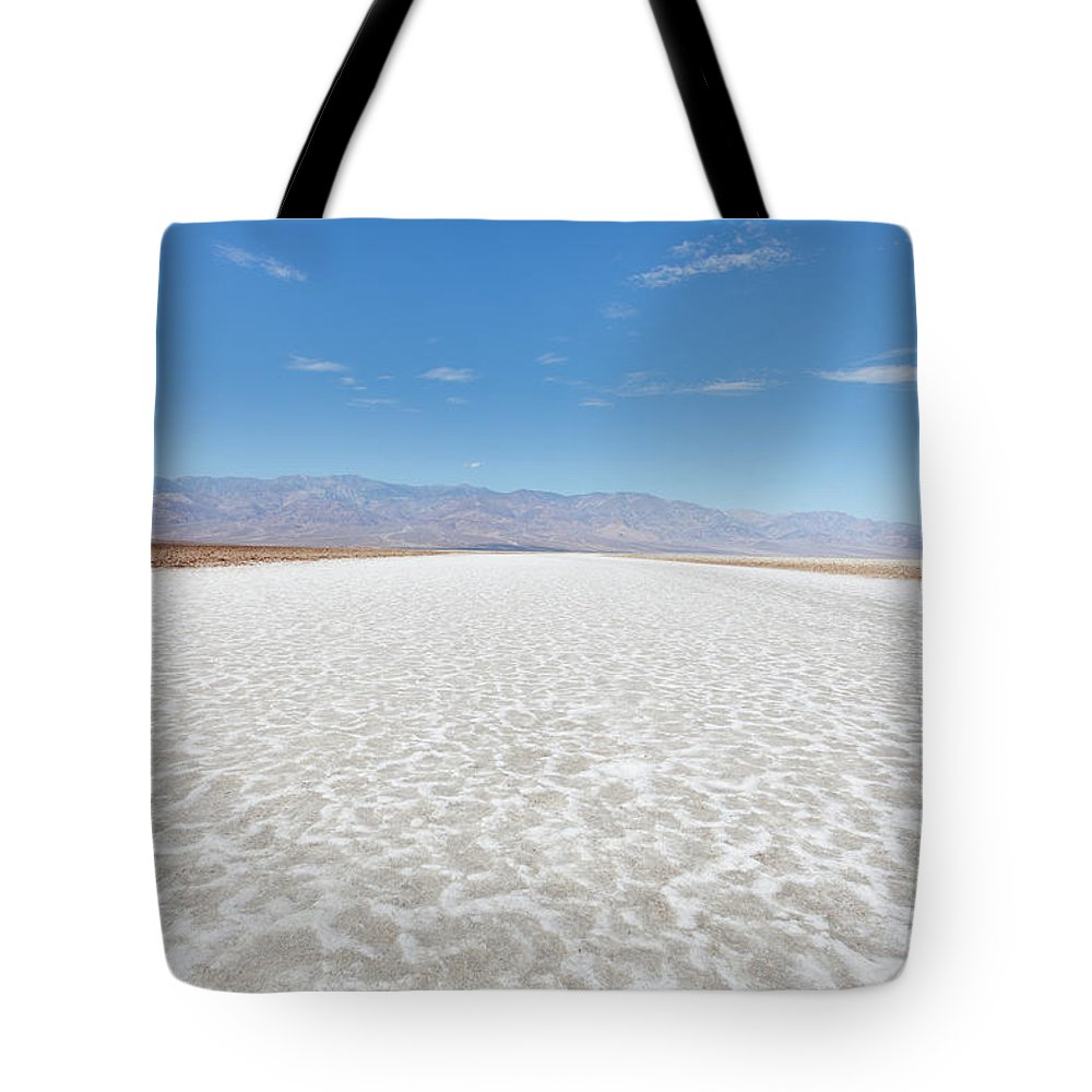Tranquility Tote Bag featuring the photograph Badwater, Death Valley National Park by Tuan Tran
