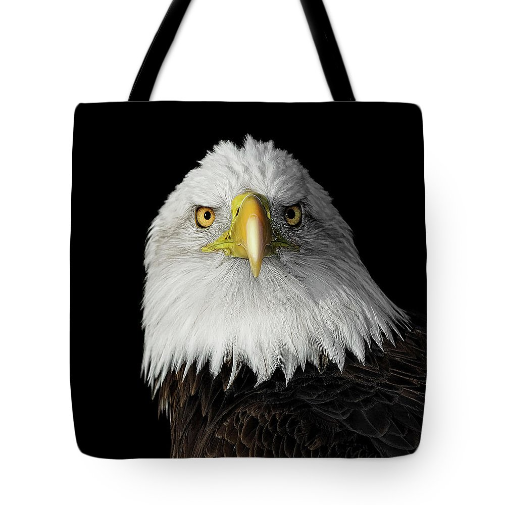 Animal Themes Tote Bag featuring the photograph Bald Eagle by Dansphotoart On Flickr