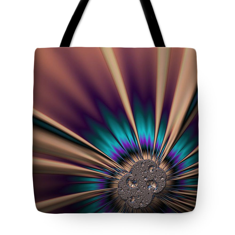Frax Tote Bag featuring the photograph Ball Gown With A Brooch. by Minnetta Heidbrink