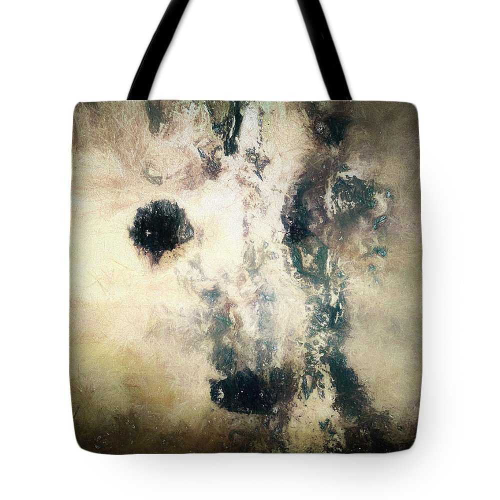 Bambi Tote Bag featuring the digital art Bambi Getting Old by Ole Klintebaek