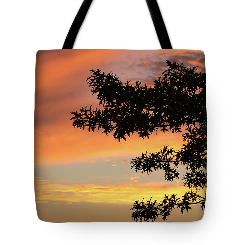 Sunset Tote Bag featuring the photograph Beautiful Sunset by Shot City Media