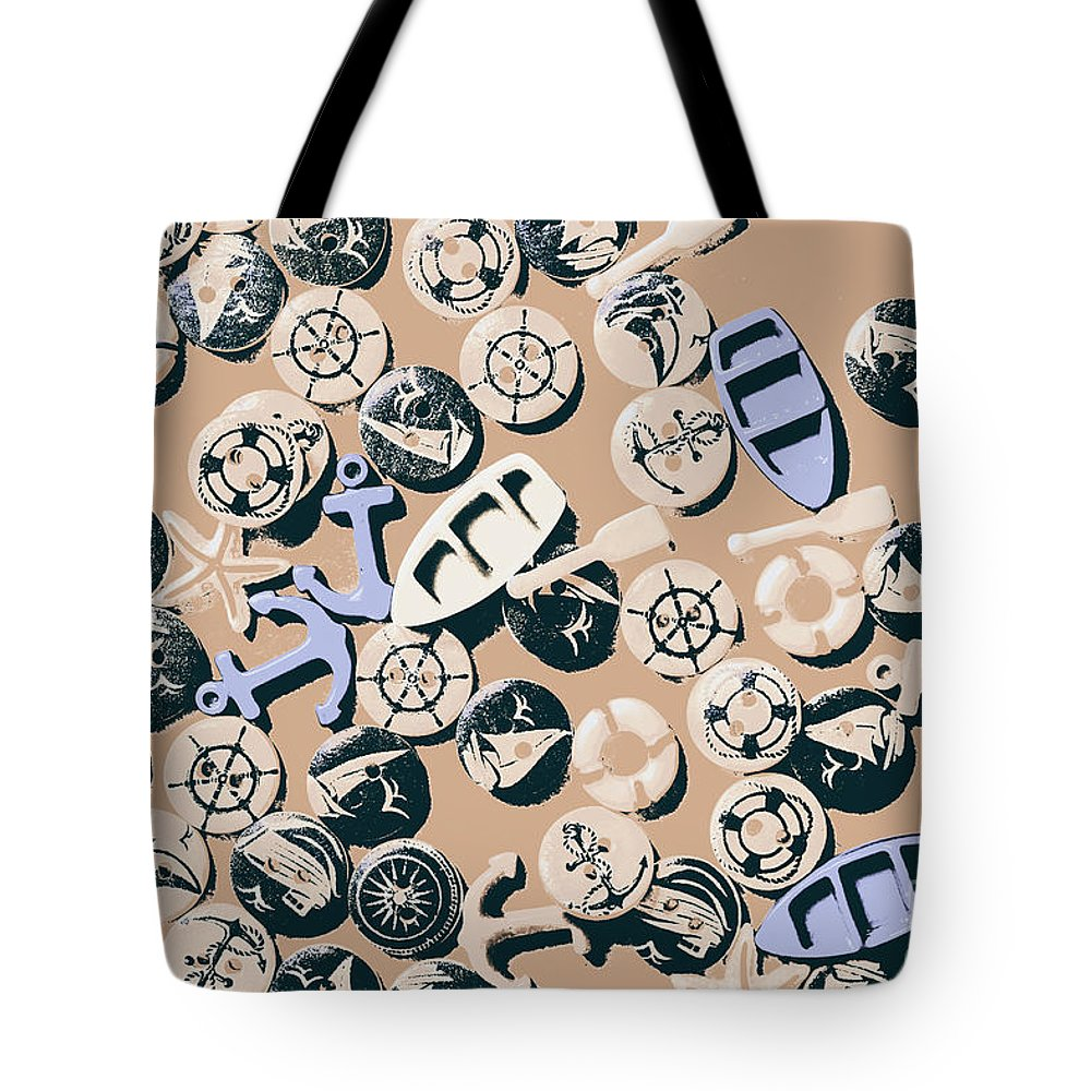 Boat Tote Bag featuring the photograph Beige Boathouse by Jorgo Photography - Wall Art Gallery