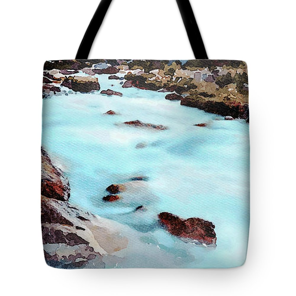 Peru Tote Bag featuring the photograph Big Two-hearted River by DiFigiano Photography